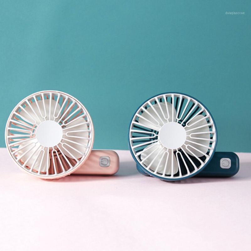 4 Цвета мини ручной зарядки маленький вентилятор портативный тихий многоскоростной вентилятор ветер ветер складной USB вентиляторы вечеринка подарки красоты LOUSE1