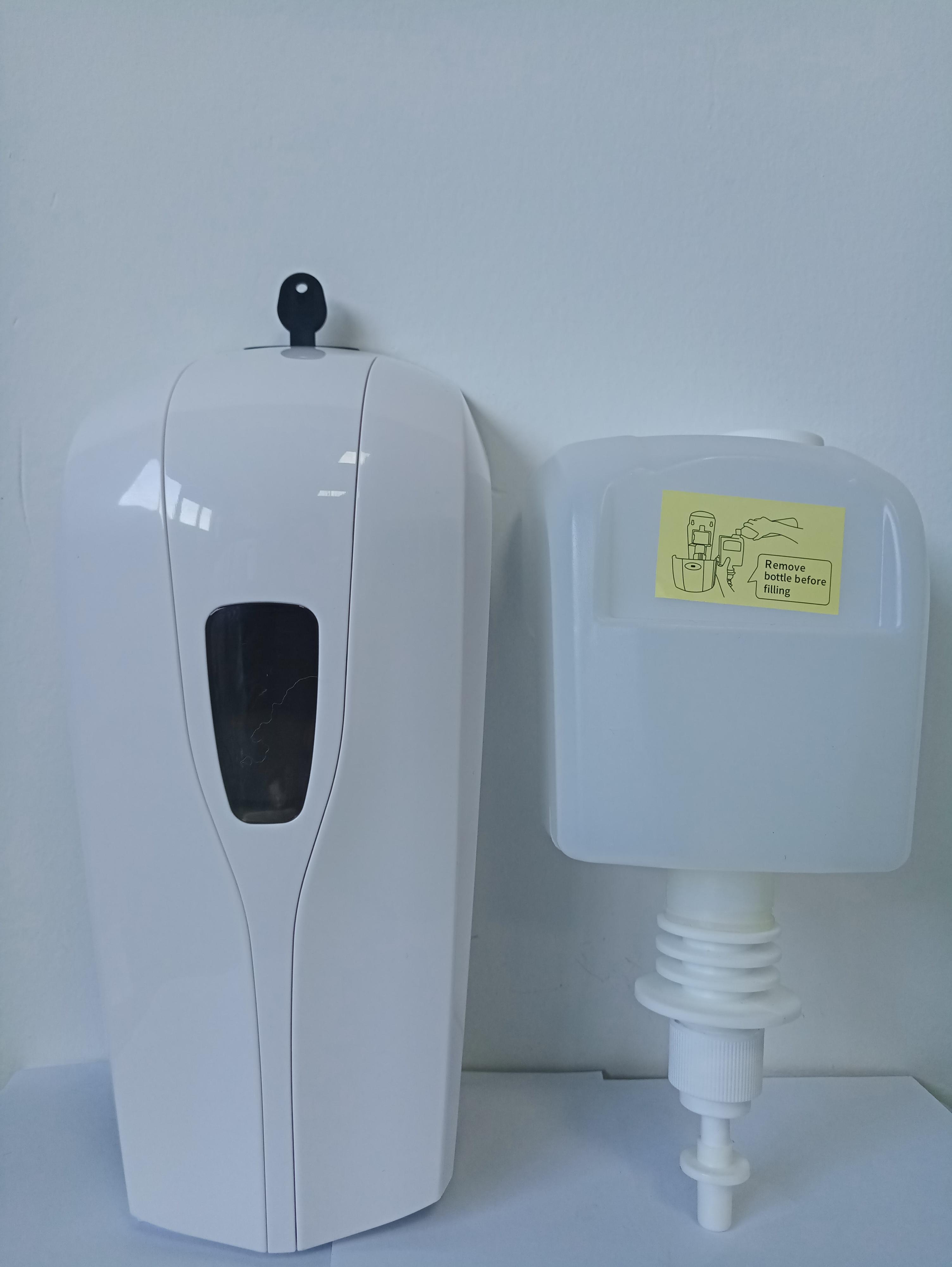 Máquina desinfectante automática Material de manos libres Auto Soap dispensador de cocina Baño