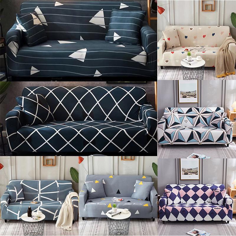 Высококачественные охлаждаемые упругие дивана для гостиной для гостиной эластичный диван подушки чехлы для углового дивана шезлонг Cover Lounge LJ201216
