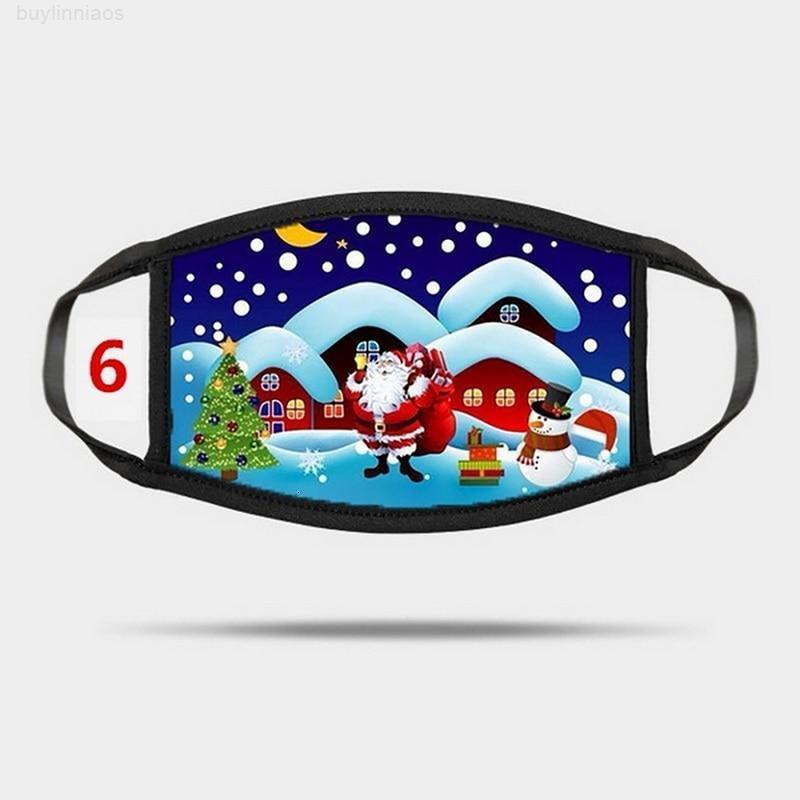 Лицо Рождество MSCARA 1 Штам маска для маски для рот для пыли Моющаяся защита Защита MASHERAP BANDAGE в течение 24 часов SQCSGQ ABC2007