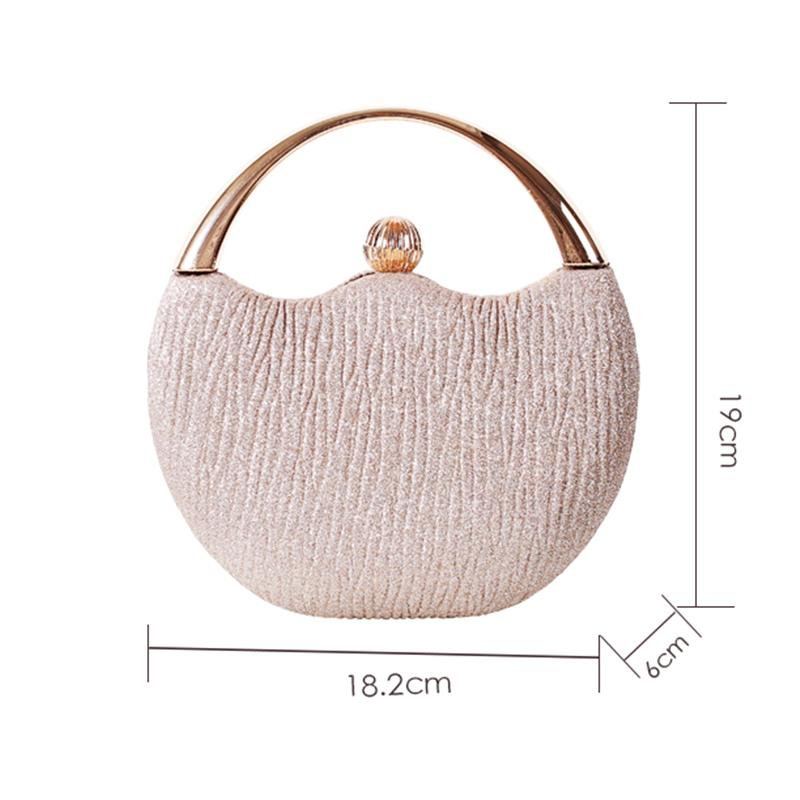 HBP Women's Wedding Clutch Evening Bag Small Female Handbag Luxury Wedding Bridal Purse Chain Party Shoulder Bag ZD1554