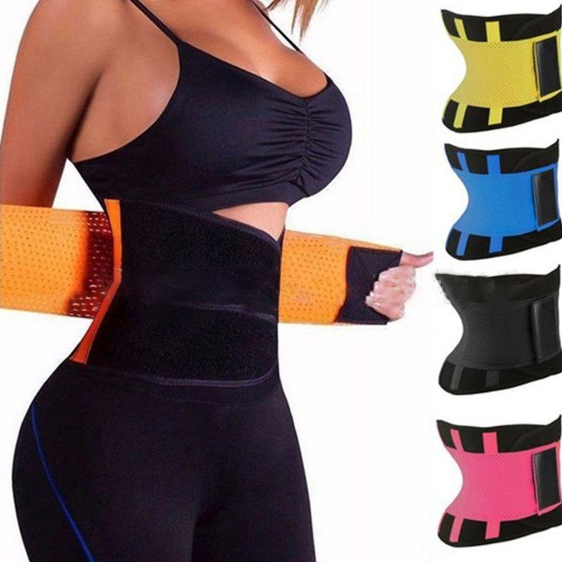 Waist Support Women Trainer Corset Abdomen Slimming Body Shaper Sport Girdle Belt Exercise Workout Aid Gym Home Sports Daily Accessory