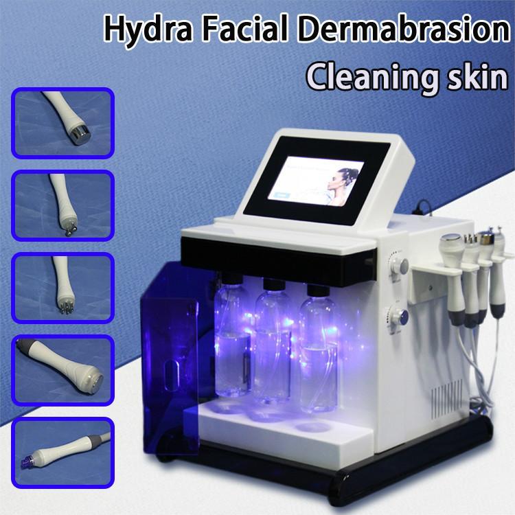 HOT Hydro-dermabrasion Hydrogen Oxygen Facial Care Skin Rejuvenation Blackhead Removal Deep Cleansing facial cleaning skin rejuvenation