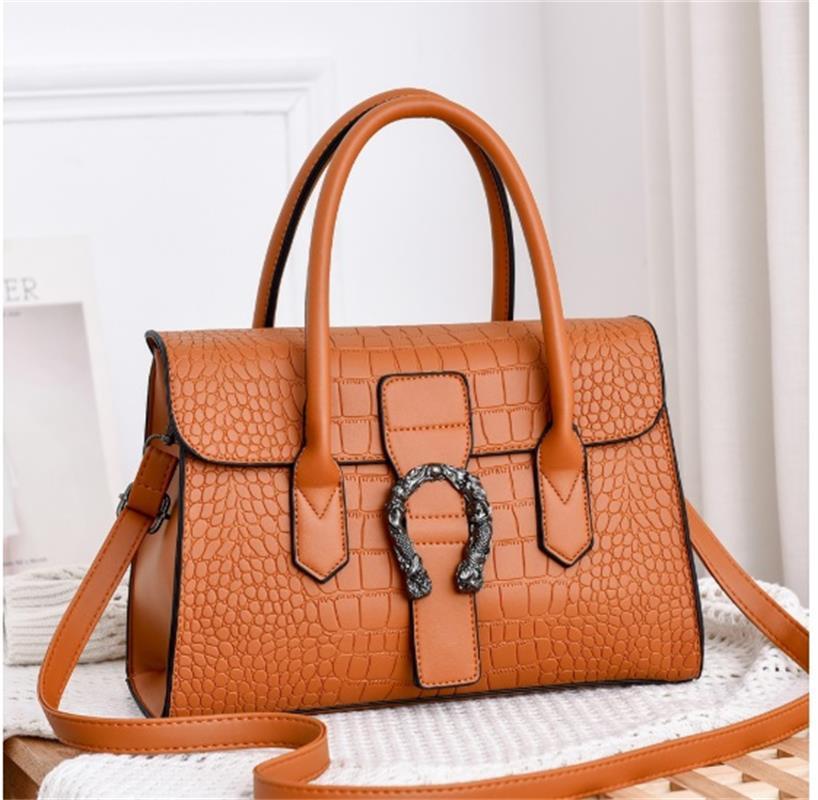 Mode heiße Dame Neue 2021 Handtaschen Taschen Handtasche Luxus Frauen Tote Marke Taschen Schulter Leder Rucksack Handtaschen Leder Geldbörse Brieftasche # 0 vibh