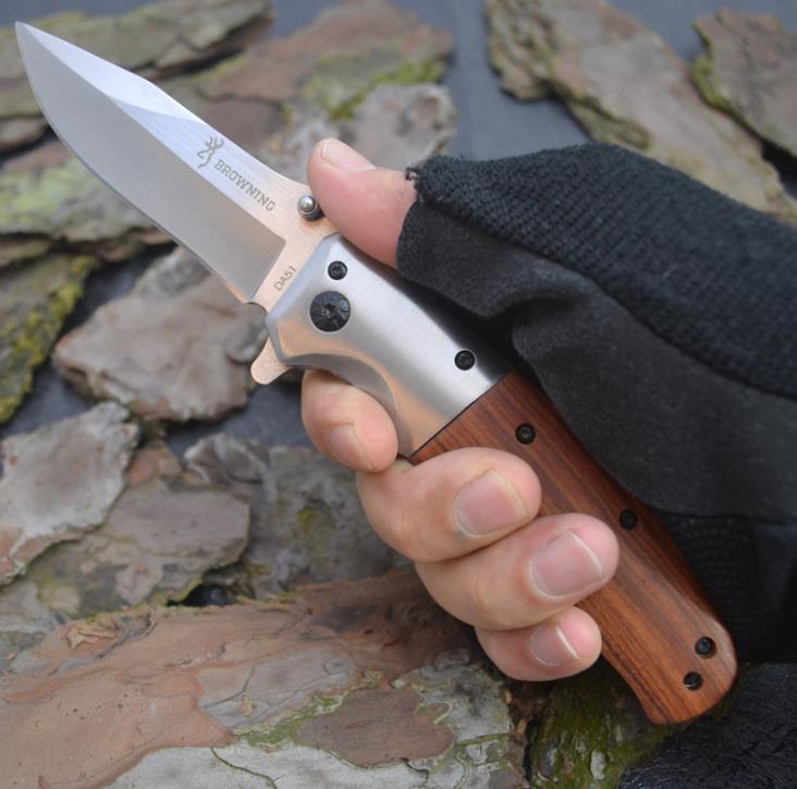 Отличное качество Damascus Hunting нож красный палисандр ручка 59HRC Blade открытый кемпинг прогулка по выживанию ножи ножи коллекционные