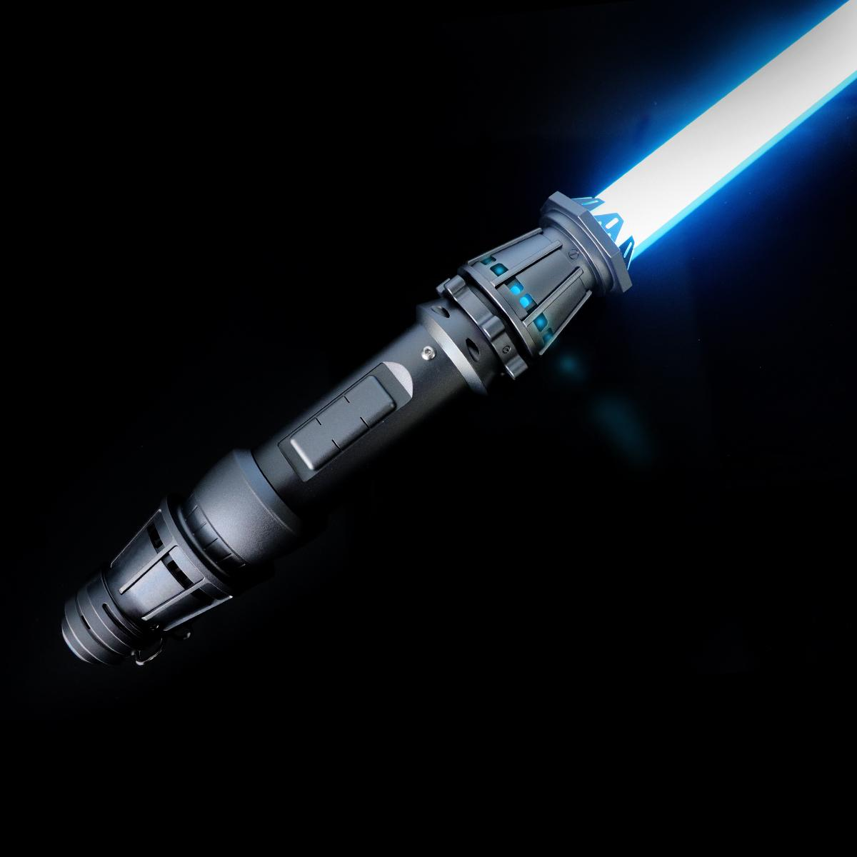 LGT Lightsaber -Rey Sabre Proffie Force Ağır Dueling Light Sabre Sonsuz Renk Değiştirme 9 Ses Yazı Tipleri Hassas Pürüzsüz Salıncak Q0113