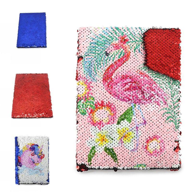 Flowernorn Notes Flamingo Notes Pads Sublimation Blanche Bloc-Note de bande dessinée Flip Serre Sirène Remarque A5 Nouvelle arrivée 15 8X G2