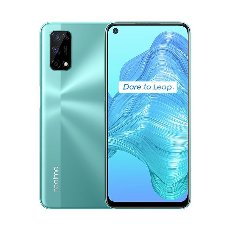"Original Realme V5 5G Mobiltelefon 8 GB RAM 128 GB ROM MTK 720 Octa Core Android 6.5 ""Vollbild 48MP Gesicht ID Fingerprint Smart Handy"
