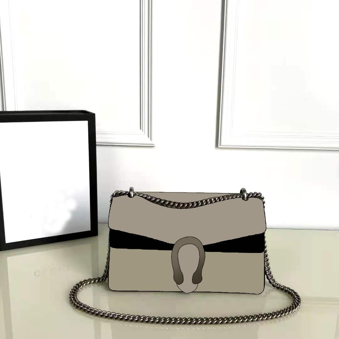 2020 حار بيع الأزياء جلد طبيعي المرأة حقيبة الكتف تغيير النساء محافظ للنساء الخصر حقيبة الكلاسيكية رسالة سلسلة حقيبة crossbody 28 سنتيمتر