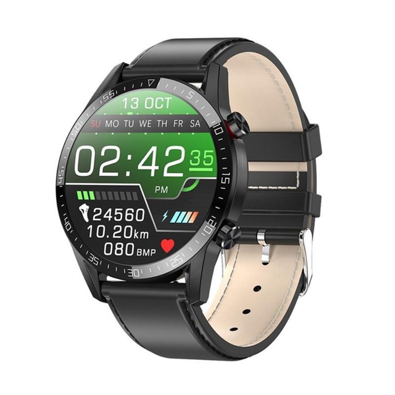 2020 NOUVEAU L13 SMART WATCH HOMMES IP68 imperméable ECG PPG Bluetooth Call Pression artérielle Présentation cardiaque Fitness Tracker Sports Smartwatch