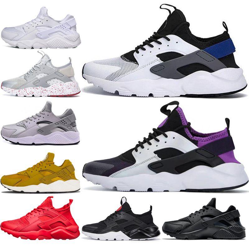 GOLD HUARACHE NEW IV для женщин мужчин черный тройной белый все красные тройные черные белые моды Huaraches кроссовки беговые дышащие спортивные кроссовки