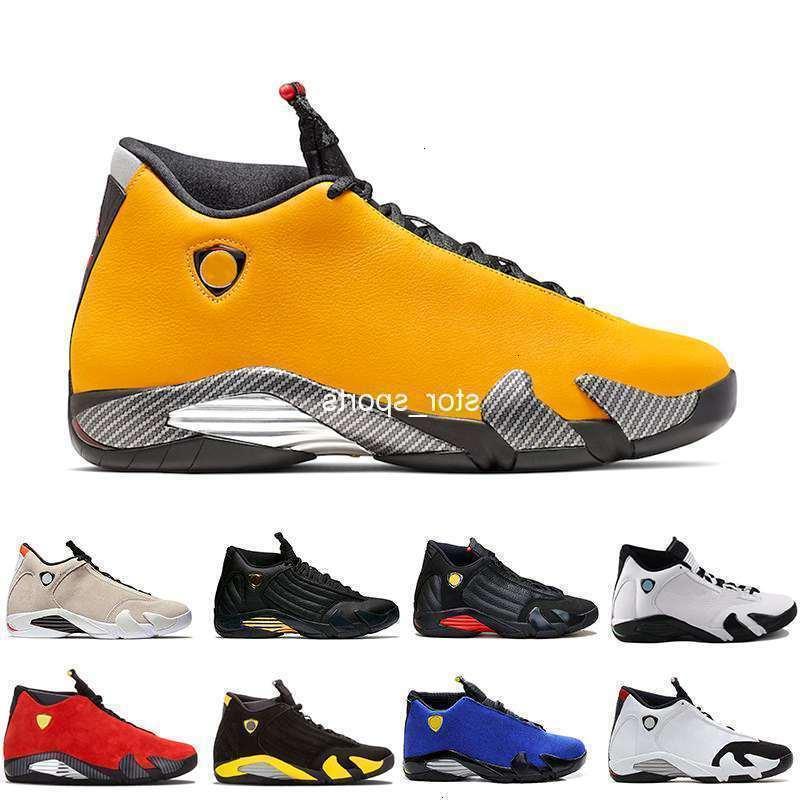 Новые 14 SE Reverse Ferrar Shoes 14s Мужские баскетбольные кроссовки Университет золота US8-12