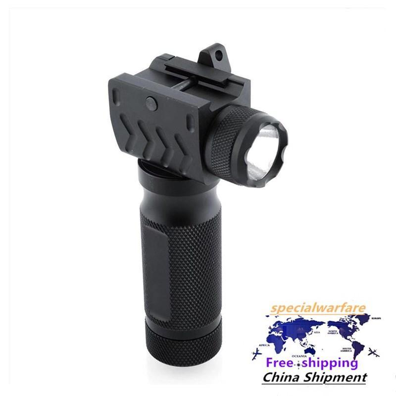 20mm unter hängen starker Licht LED-Taschenlampe Griff Aluminiumlegierung Taschenlampe Tactical Taschenlampe