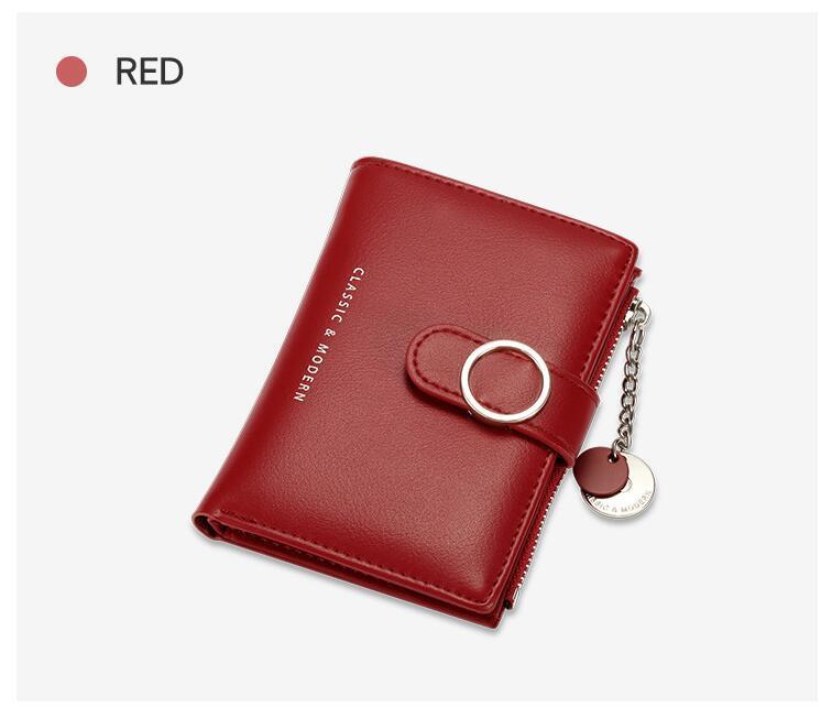 HBP PU Wallet Mode Frauen Geldbörse Karteninhaber Freies Verschiffen T2602-1041