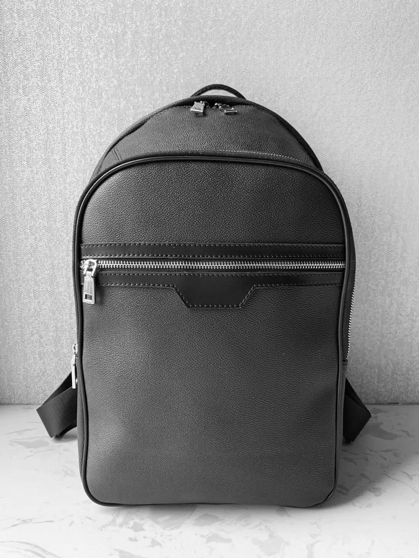 2020 Высочайшее качество Рюкзак Бренд Дизайнер нести на рюкзак Мужская Мода Школьные Сумки Роскошные Путешествия Сумка, Черный