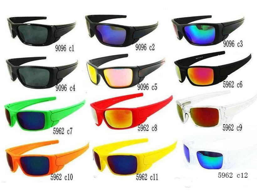 الرجال مصمم النظارات الشمسية الصيف شعبية النظارات الشمسية للرجال النظارات الشمسية في الهواء الطلق الرياضة googel النظارات 10 ألوان