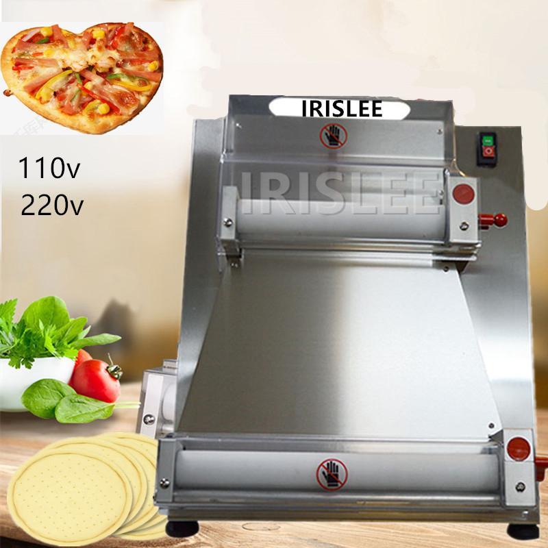 2021 Fabrik Direct SalesDough Roller Pizza Rollmaschine Teig Roller Machin Pizza Edelstahl100-400mm Pizza Maschinen Maschinen