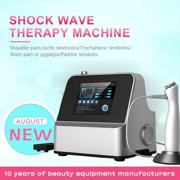 Tragbare Shockwave-Therapie-Maschine Extrakorporaler Stoßwellen-Therapiegeräte für ED-Behandlungen CE DHL-Versand-CE