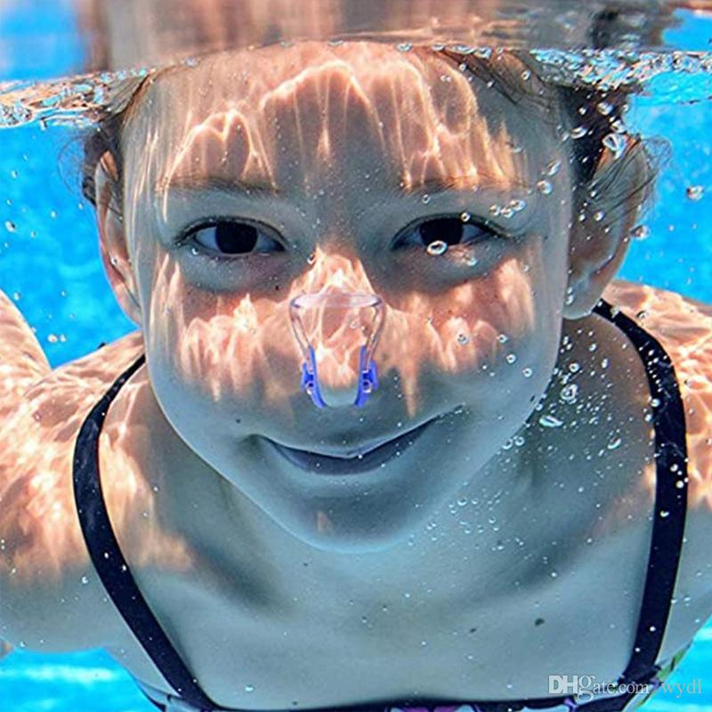 Factory Direct Swimming Nose Clip Durable Silicone Swimming Waterproof Nose Clip Earplugs Earplugs Set Swimming Earplugs