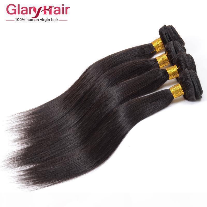 Toptan Fiyat Hint Bakire Saç Atkı Karışık Uzunluk 8-30 Inç Ham Hint Düz İnsan Saç Demetleri 8A Sınıf İşlenmemiş Saç Örgü Paket