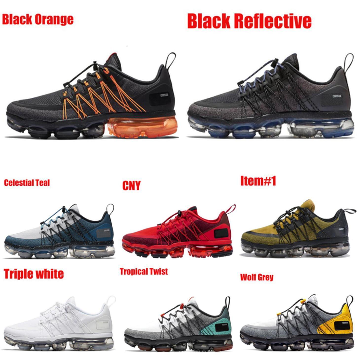 Classic Triple Black Run Utility Scarpe da corsa per uomo Donne Nuova Teal Celestiale CNY Tropicale Tropicale Twist Mens Trainer Sneakers Runner 40-45