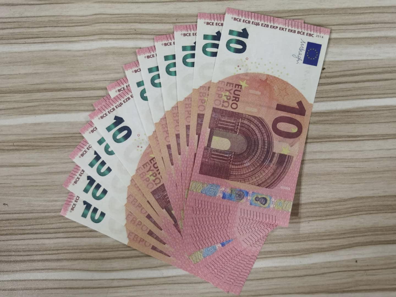 Faux Paper Money Prop 10 20 50 100 200 500 20 100 Euro Nouveau 100 Dollars 50 livres Bills Prix des billets de banque 28