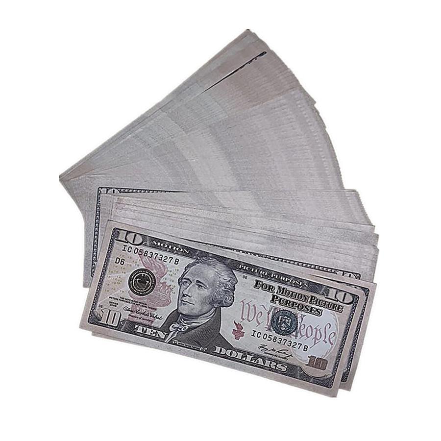 Money Props Copy Shooting Fasy Movie Children's of 100pcs / pack Shipping 10e Bar Billetes de moneda Billetes de divisa Juguetes americanos CQDKQ XXDJA