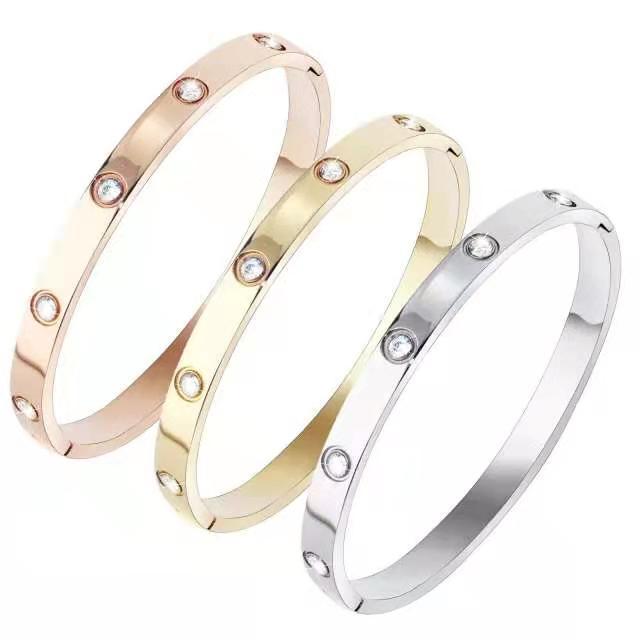 Предметы браслет ногтей дизайнер браслет мужской золотой браслет 2021 роскошные ювелирные изделия женские браслеты из нержавеющей стали золотая пластина