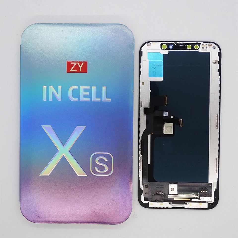 Incell High Quality LCD display For iPhone Xs Touch Screen replacement Parts Factory Price for ZY brand