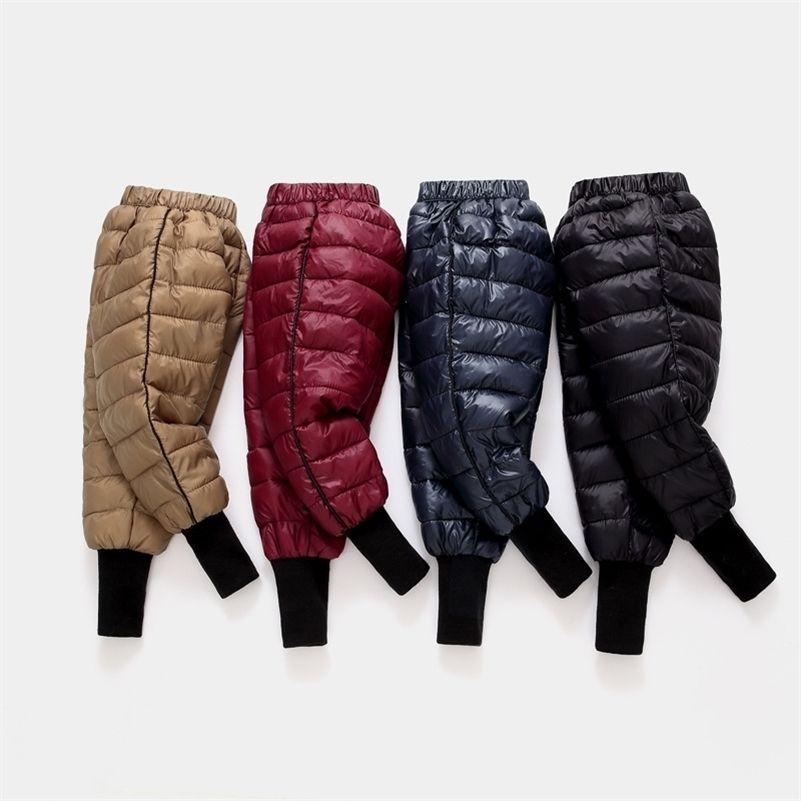 Kış Bebek Erkek Kız Tayt Çocuk Pantolon Pamuk-Yastıklı Aşağı Pantolon Toddler Kalınlaşmak Sıcak Pantolon Çocuk Pantolon 1 2 3 4 5 6 Yıl 201207