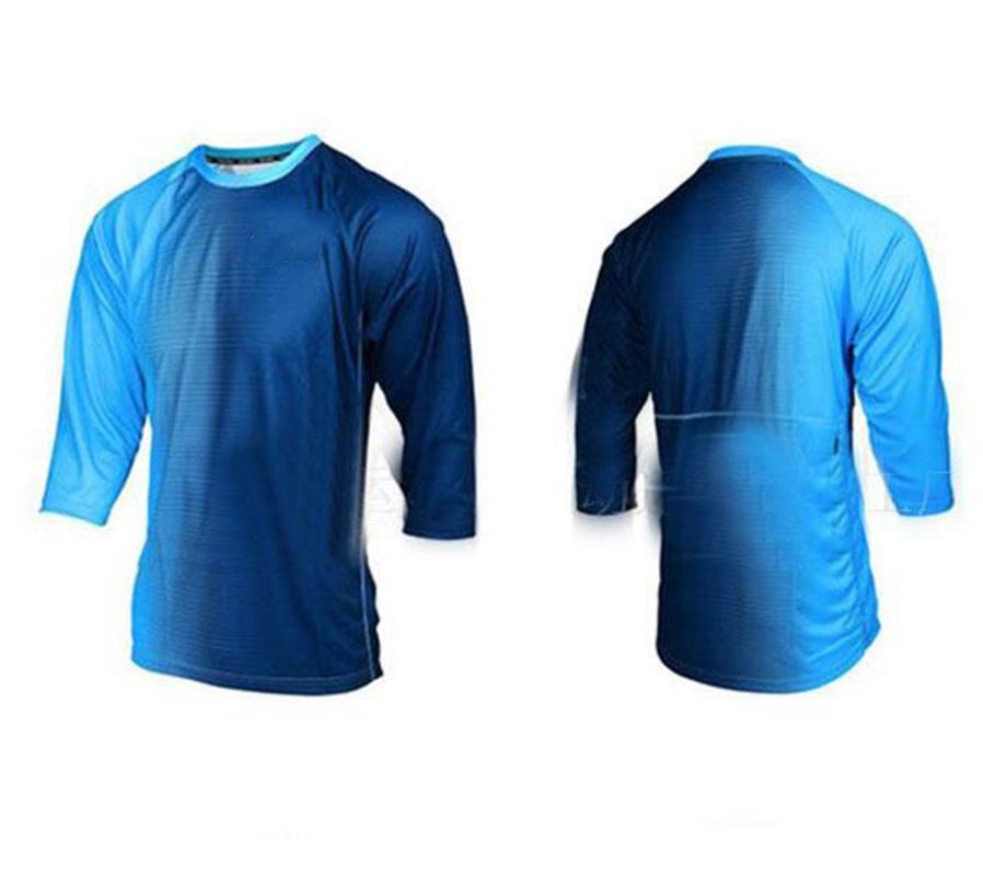 2021 Yeni Hız Teslim T-Shirt Dağ Cross-Country Motosiklet Yarışı Takım Yaz Bisiklet Bisiklet Jersey Uzun Kollu Gömlek Erkekler