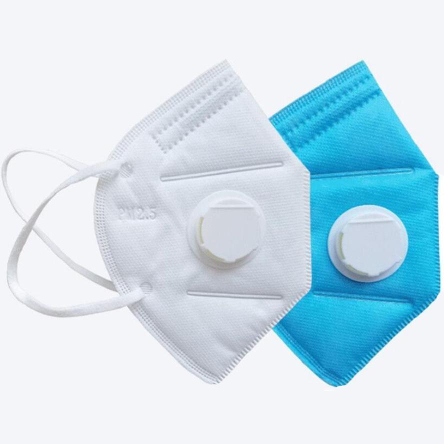KN95 Маска Маска 95% Фильтр FFP2 Маска для лица Красочный Активированный Углеродистый Дыхание Респиратор Клапан 5 Слой Маски для рта Бесплатная Доставка