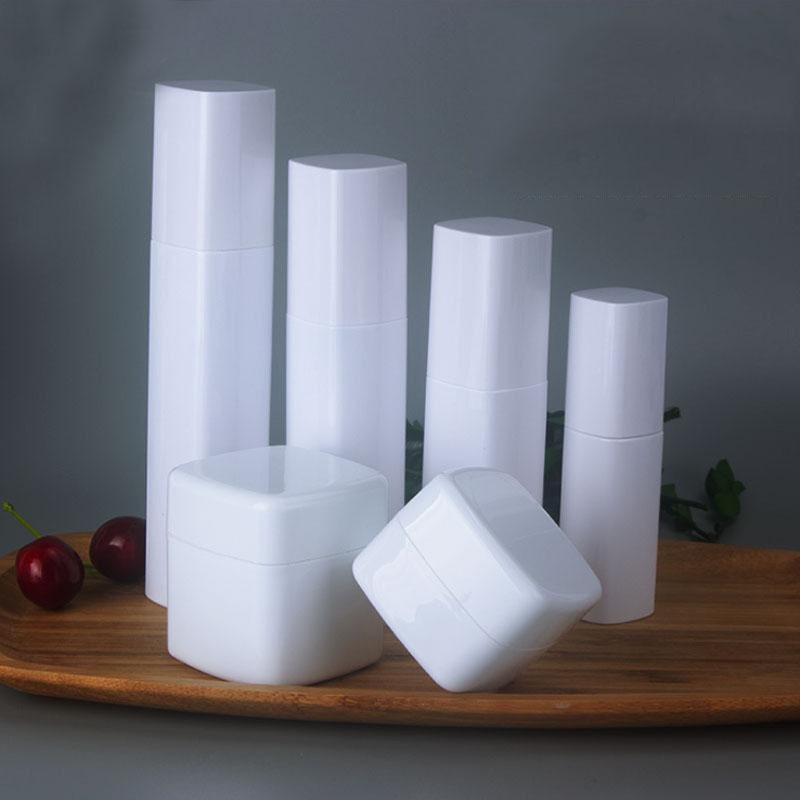 30g 50g 30 ml 60ml 80 ml 100 ml de plastique de pet d'emballage cosmétique de la bouteille de quatuor de quatuor de la bouteille de pompage
