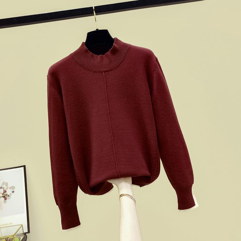 Женские блузки рубашки Cogarsam 4XL плюс размер свободные блузки женщины зимние весенние Blusas женские вершины и красные 200