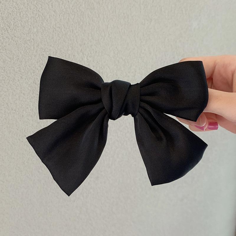 fashion hairpin Butterfly Hair Clip hairpin Girl's Plaid Bow hairpin hair clip Woman Girls Hair Accession A140