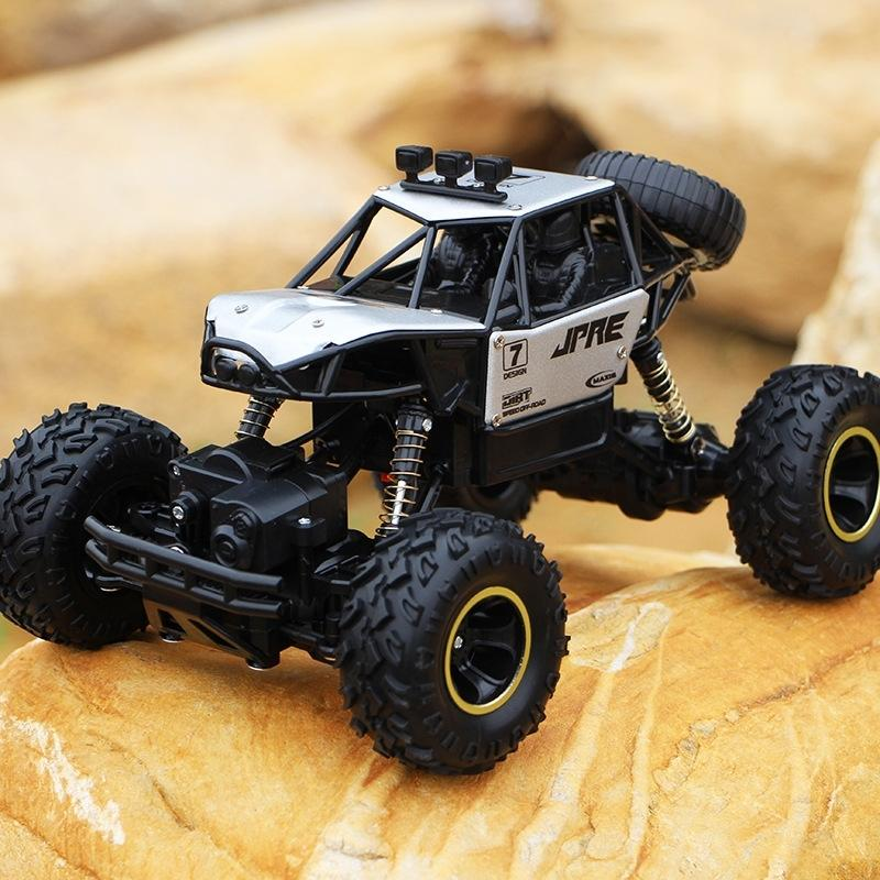 RC 4WD 2.4GHZ escalada 4x4 dupla motores Bigfoot carro controle remoto modelo de veículo off-road brinquedos para crianças e adultos y200413