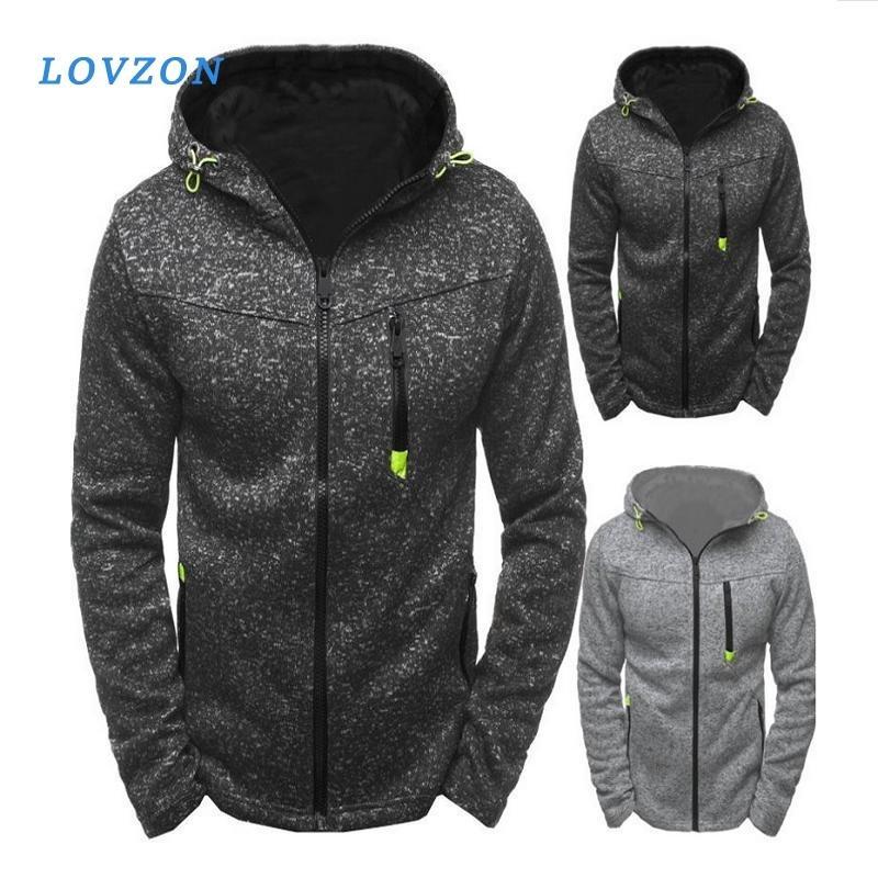 Hommes Sports Casual Wear User Zipper Mode Marée Jacquard Sweats Sweats en polaire Veste Automne Sweatshirts automne Hiver manteau
