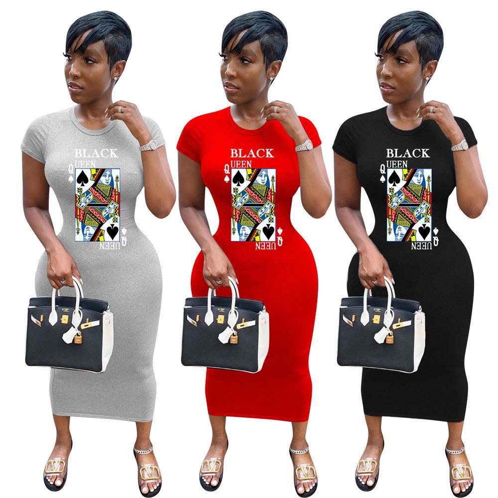 1160 kadın moda dijital baskılı elbise