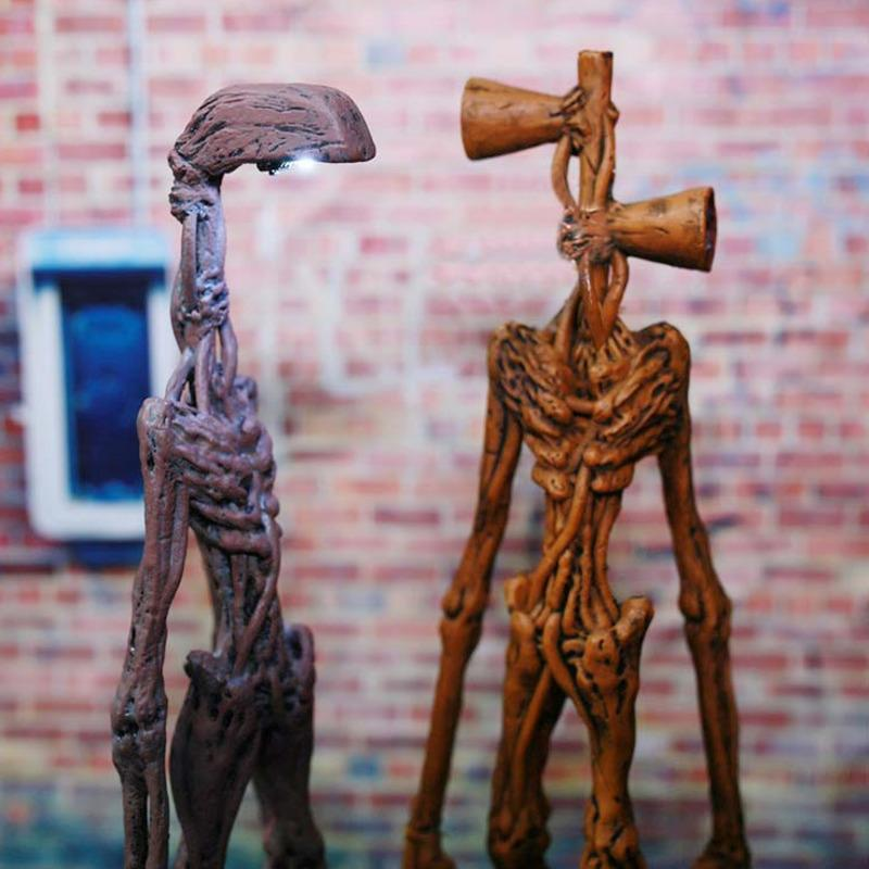 20 см Сиренхед фигурка Сирена уличные лампы головы модель коллекционируемая городская легенда ужасов игрушки SCP 6789 аниме действия фигурки дети подарок 201202