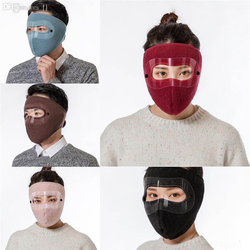 91P9F Masque Masque Masque Masque Masque de soie de glace Visage Paquet individuel lavable EXTÉRIEUR anti-poussière anti-poussière anti-poussière