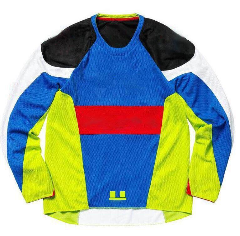 Traje de carreras de motocicletas de verano, camisa de cuesta abajo de la motocicleta, sudadera cuesta abajo, traje de copa de copa de montaña, poliéster se puede personalizar