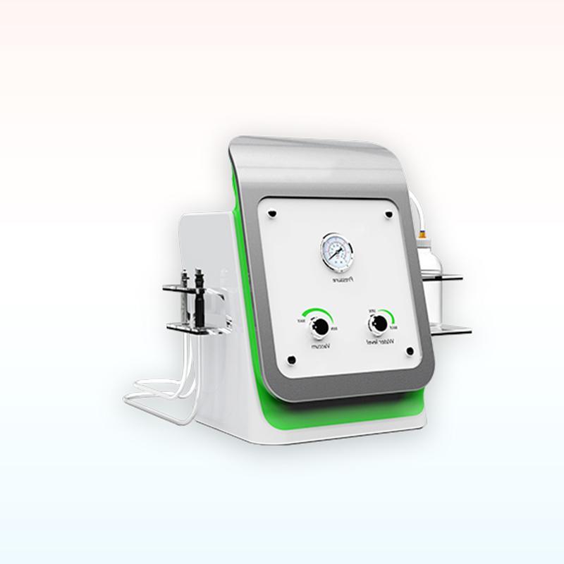 Tragbare 2 in 1 Hydro Dermabrasion Gesichtsmaschine RF Hautverjüngung Wasser Gesichtsmikrodermabrasion Bio-Heben von Faltenentfernungssystem