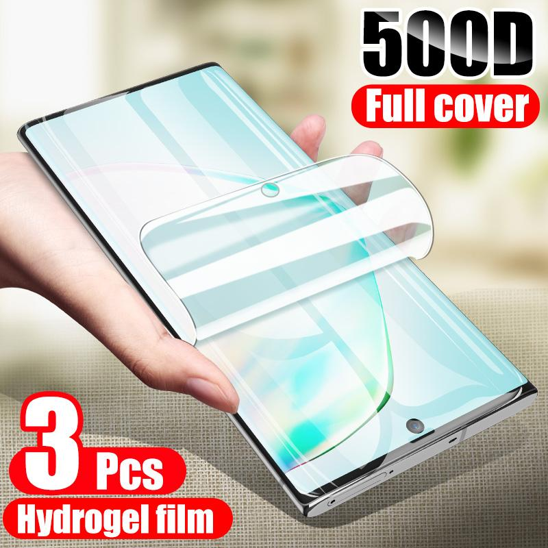 Hydrogel Film On The Screen Protector For Samsung Galaxy S20 S10 S8 S9 Plus Screen Protector For Iphone 12 mini 12pro max