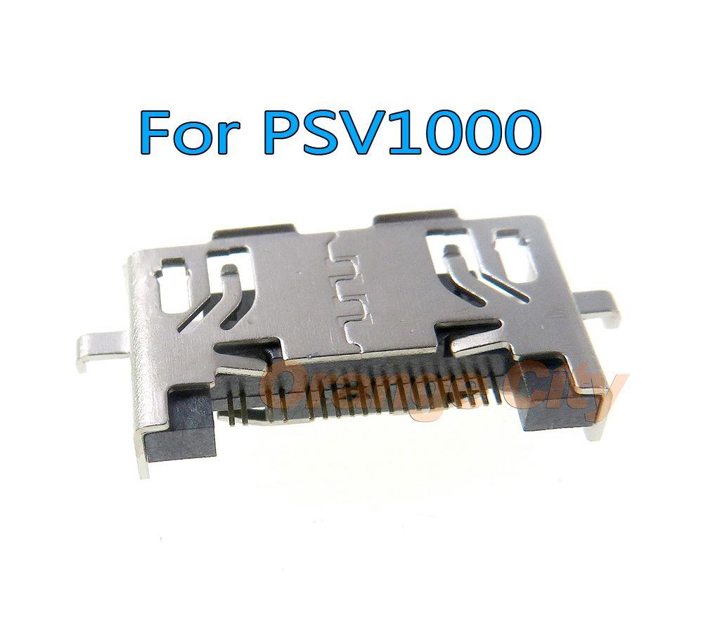 USB Veri PSV1000 PS Vita PSV 1000 PSVita için Güç Şarj Port Soket Konektörü