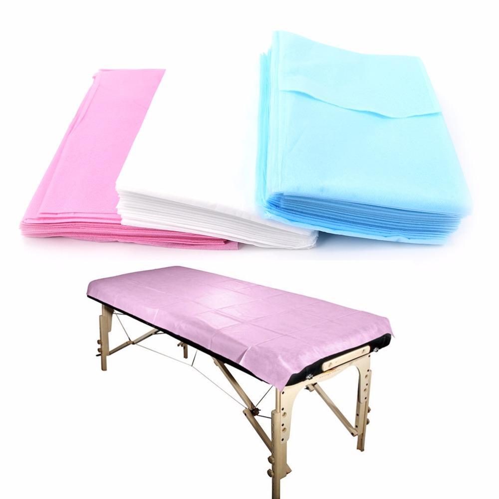 180 * 80cm Einweg-medizinische Massage Vlies Bett Pad Einweg medizinische Massage Vlies Bett Pad Schönheitssalon Wedigieren Bettblatt DDA2892