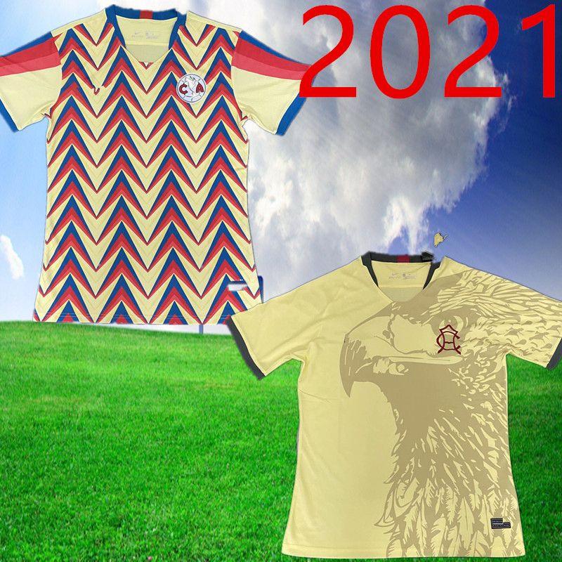 2021 Homens América Futebol Jersey Guadalajara Chivas Cruz Azul 20 21 Liga MX Club América Futebol Camisa