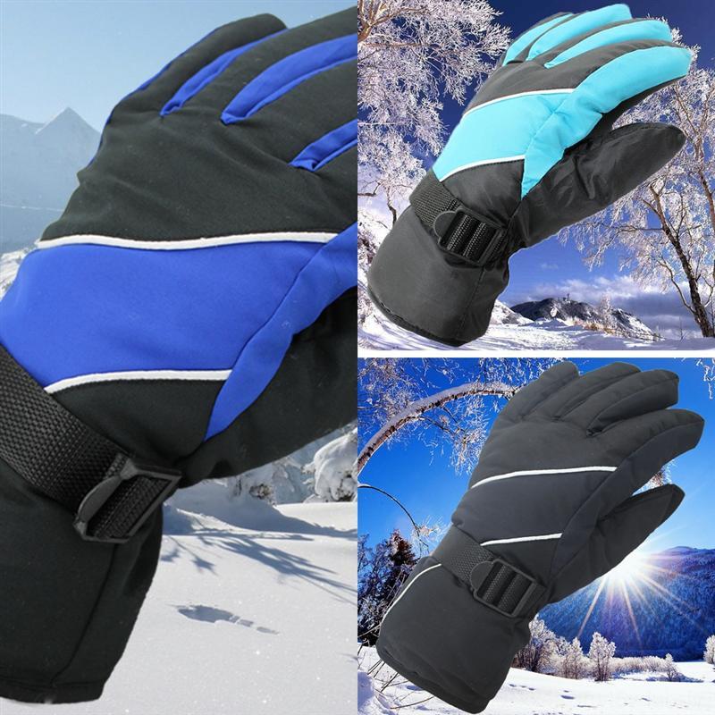 Lajbi Gel Winter mit Fahrradhandschuhen Touchscreen MTB Thermische Handschuhe Fahrrad Dickstoffdefertiger Männer Frau Winter Ski Handschuh Ski Reflexion