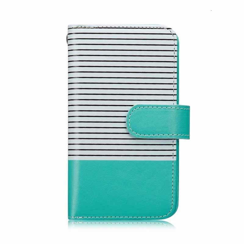 Роскошные полосы PU кожаный кошелек чехол 6s 6 7 8 Flip Multi Card Slots Magnet Отдельный телефон Сумка для телефона Крышка ремешка для iPhone XS MAX
