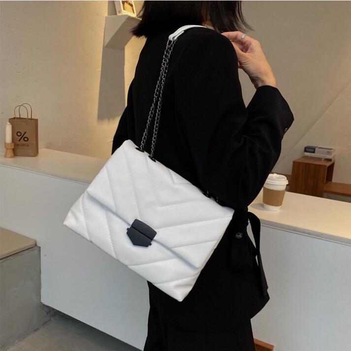 Lading Bag + kleine Mutter Hand Handtaschen Weibliche Tasche Paket Frauen aus Leder 2021 Schulter Neue Bill QWLHH