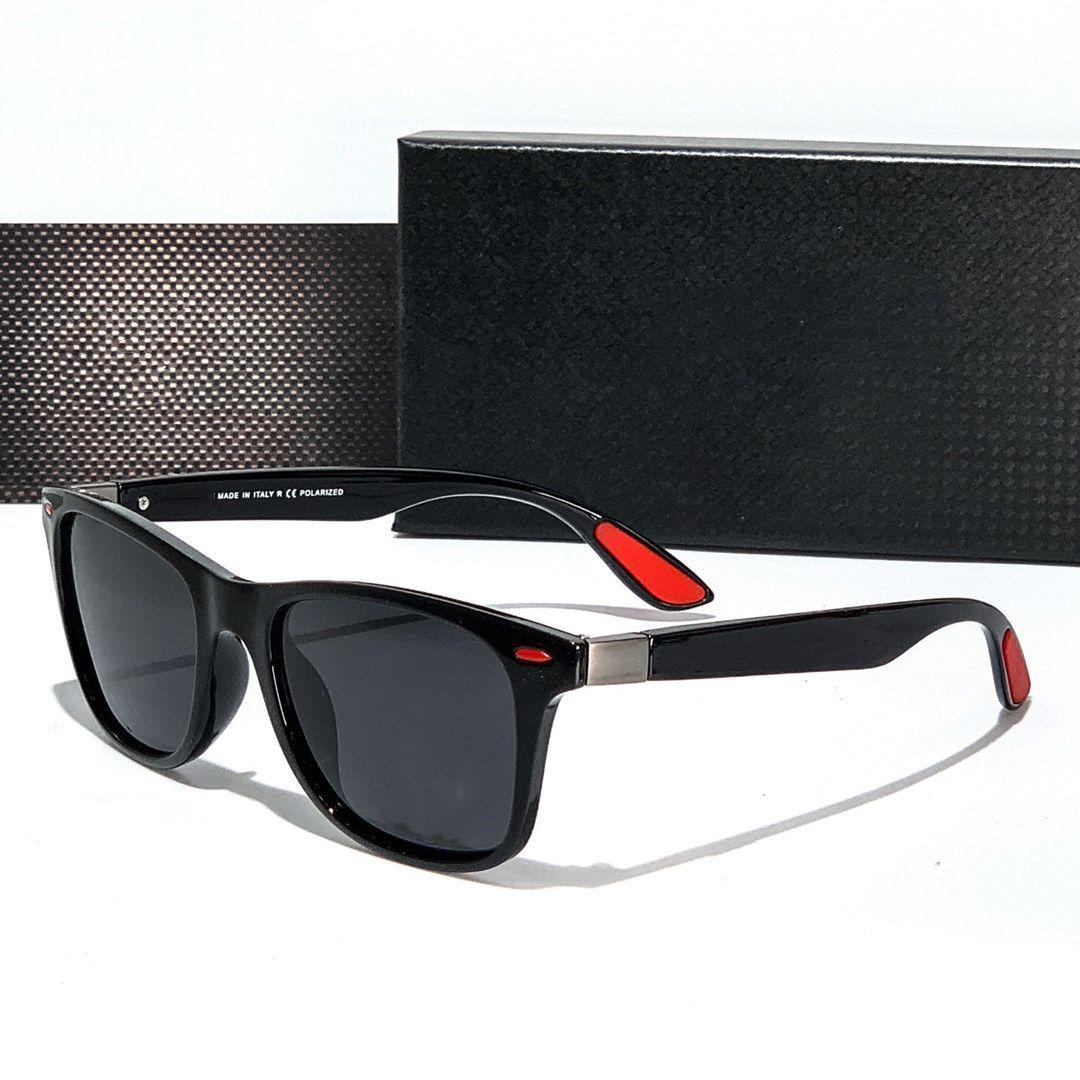 أربعة ألوان النظارات الشمسية الكلاسيكية للرجال والنساء الأزياء المصممين المصممين جودة عالية HD الاستقطاب عدسات القيادة نظارات 1921